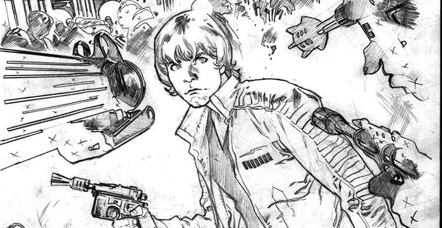 Stuart Immonen en la serie de Star Wars.