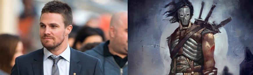 Stephen Amell será Casey Jones.