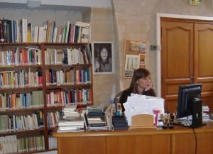 Mostrador de biblioteca