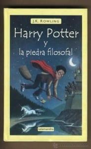 Harry Potter y la piedra filosofal de J.K. Rowling