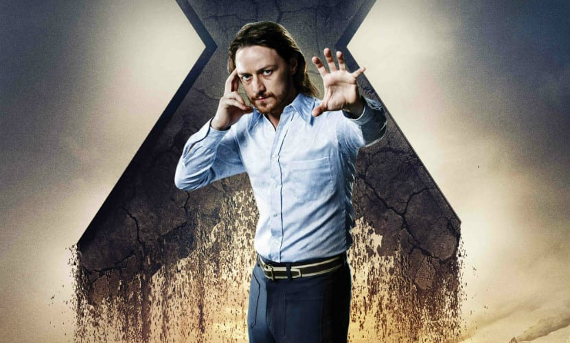 James McAvoy Charles Xavier