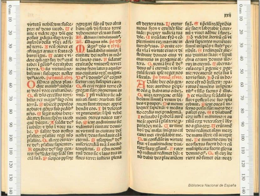 La Biblioteca Nacional de España digitaliza en alta calidad los incunables españoles