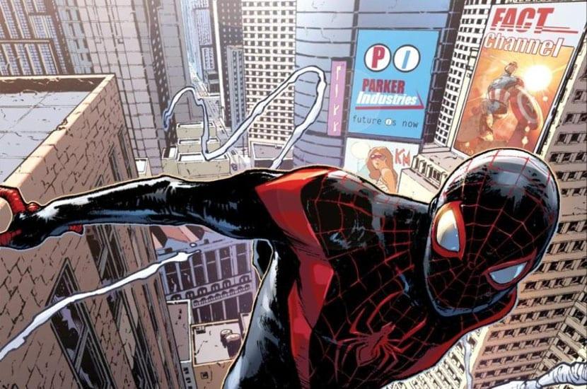 Miles Morales será el principal Spider-Man de Bendis y Pichelli.