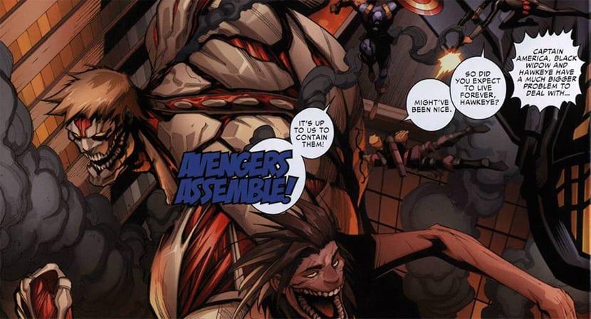 Attack on Titan/Avengers se puede descargar gratis.