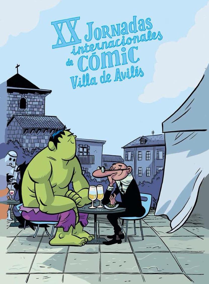 Invitados de las XX Jornadas del Cómic de Avilés (I).