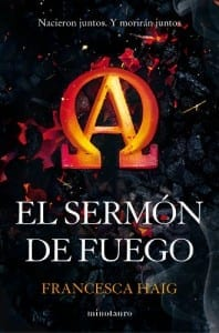 """La saga """"El sermón de fuego"""", de Francesca Haig, aterriza el 15 de septiembre"""