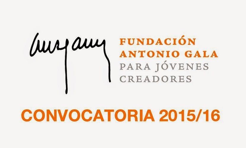 Convocatoria Fundación Antonio Gala Jóvenes Creadores 2015 2016
