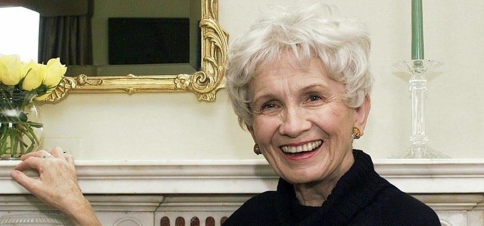 Alice Munro, ganadora del Nobel de Literatura en 2013.