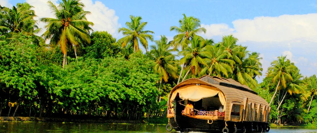 Kerala, estado de la India donde se ambienta la novela.