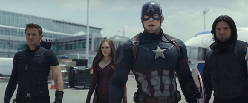 Tráiler de Capitán América: Civil War.