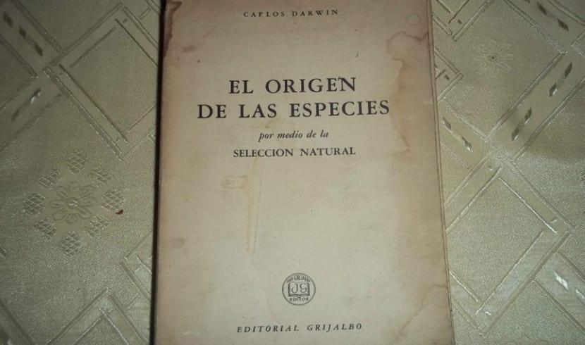 Manuscrito El Origen de las especies