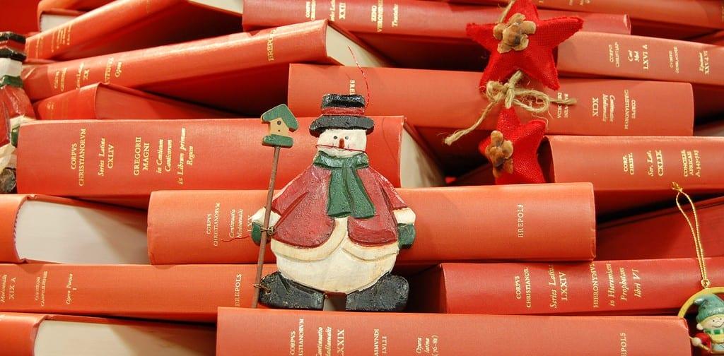 Libros navideños - Frontal