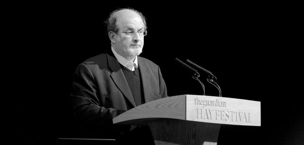 Salman Rushdie - Frontal