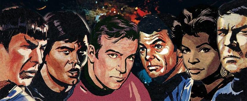 IDW publicará las tiras británicas de Star Trek.