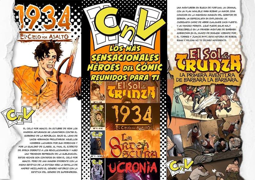 Presentación de la línea editorial Carmona en Viñetas.