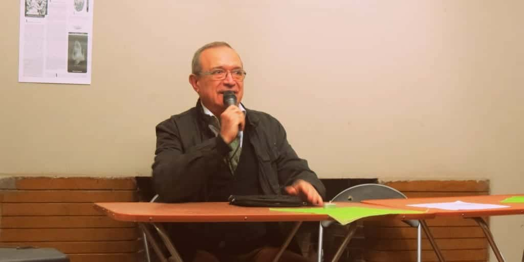 El autor chileno Sergio Badilla, mayor exponente del transrealismo