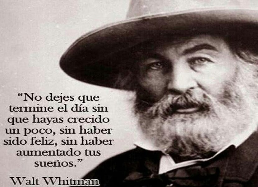 10 frases breves de Walt Whitman -