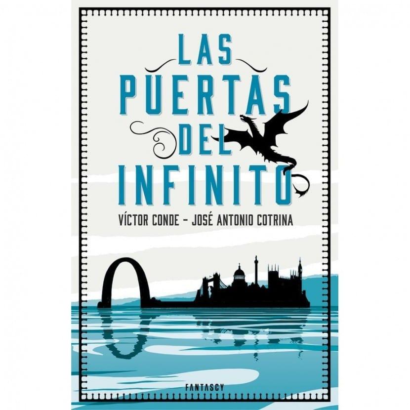 """Portada """"Las puertas del infinito"""""""
