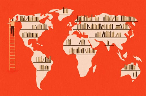 Resultado de imagen de imagen literatura de dos continentes