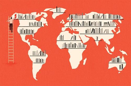 La vuelta al mundo en 186 libros
