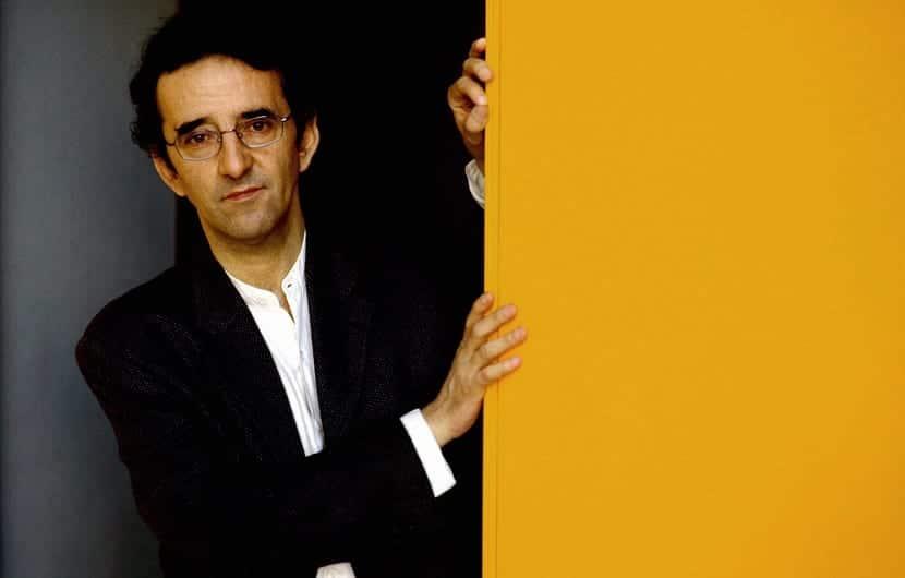 Portrait de l'écrivain, Roberto Bolano (Chili 1953 - Barcelone 2003) ©Effigie/Leemage