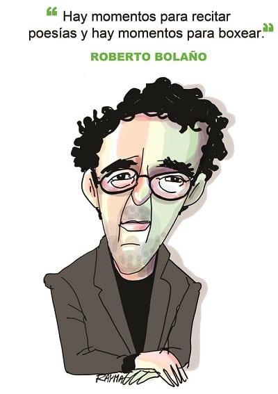 Roberto Bolaño Caricatura