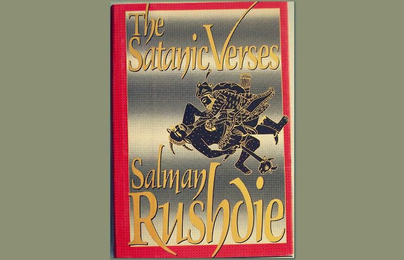 Los versos satánicos Portada
