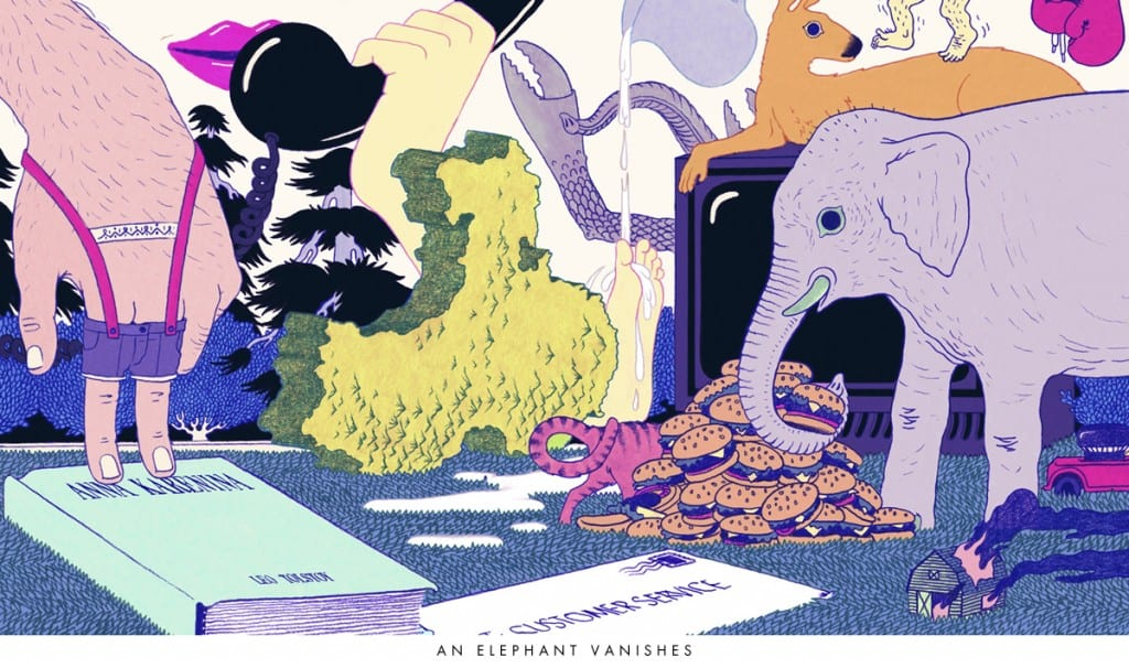 Murakami Ilustración