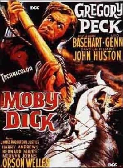 Obras de Ray Bradbury llevadas al cine - moby dick