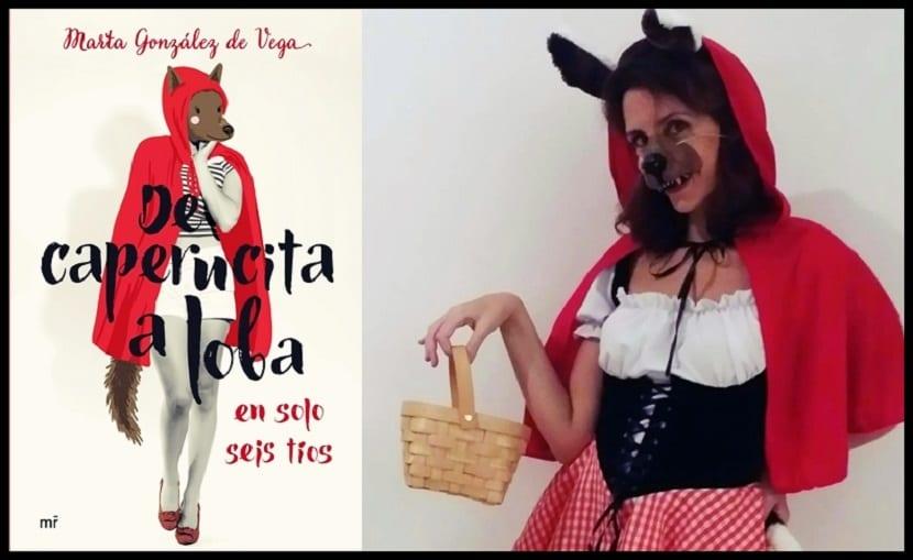Reseña del libro De Caperucita a loba en sólo 6 tíos de Marta González