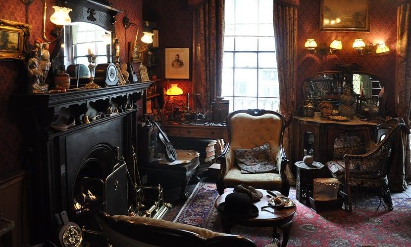 grandes sillones de obras literarias conocidas - Sherlock Holmes