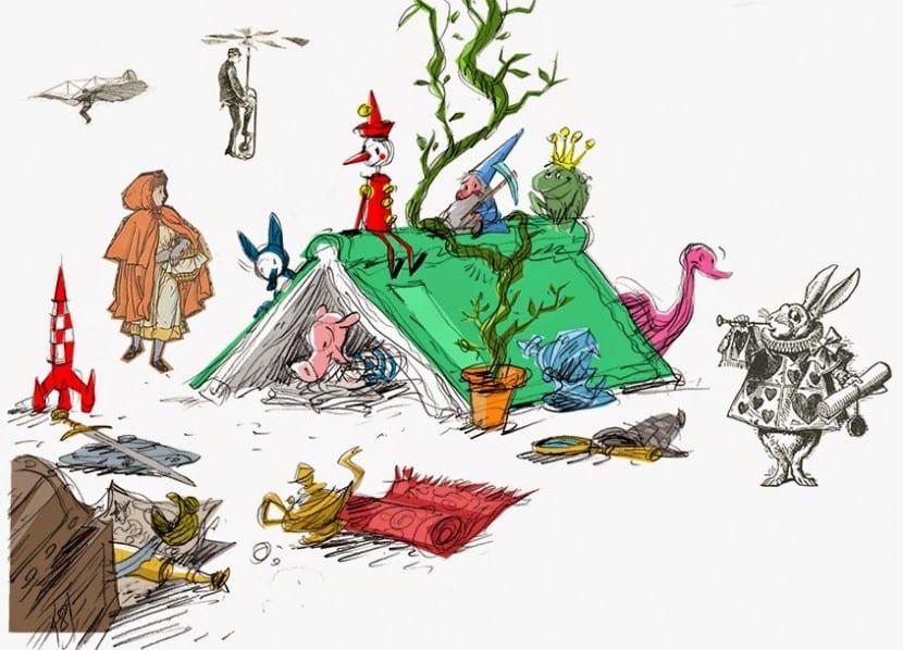 personajes de cuentos infantiles