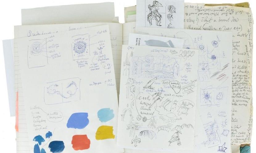 Anotaciones de Tolkien en las ilustraciones de Bayne