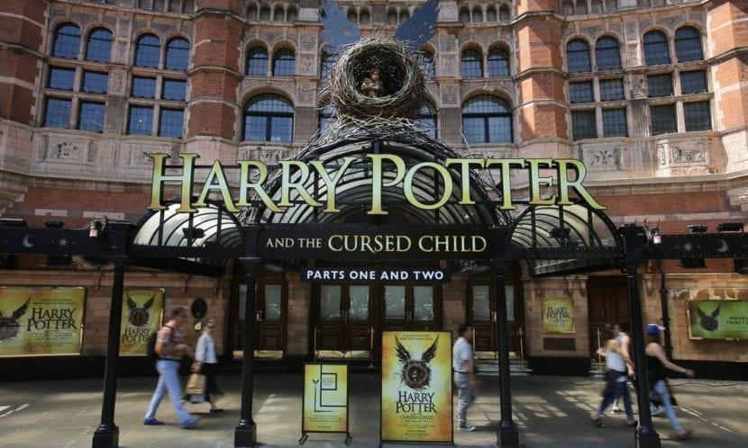 Preparación de Harry Potter y el niño maldito