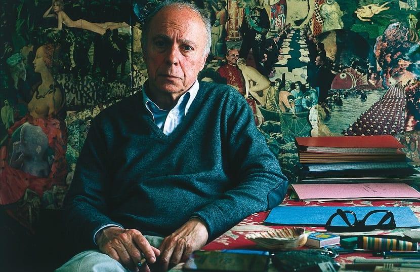 L'écrivain français Claude Simon (1913-), en juin 1978. / Prix Nobel 1985. / France. / 6 - 1978 / 1913 /