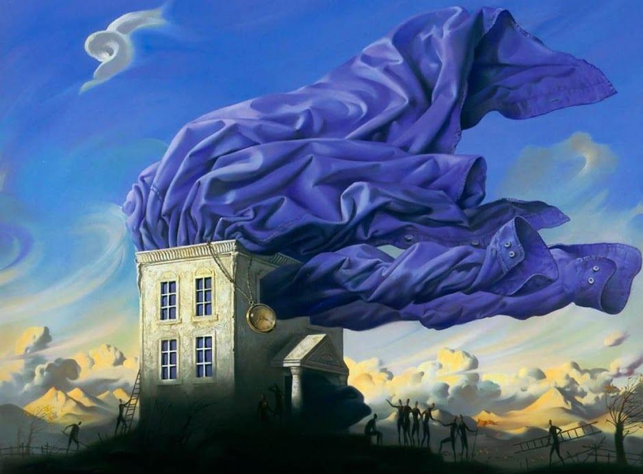 Pintura del autor © Vladimir Kush.
