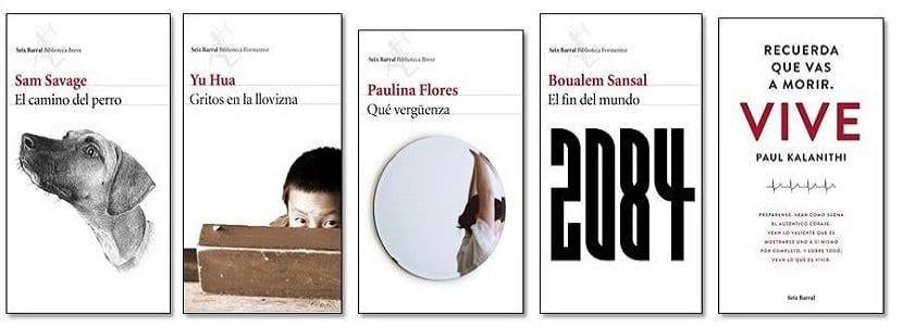 Novedades editoriales Seix-Barral