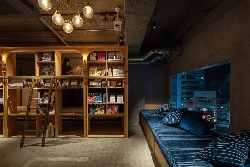 Te imaginas dormir en un hotel-librería