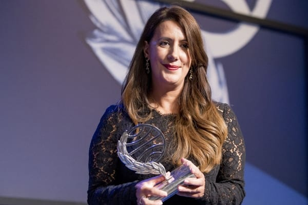 Dolores Redondo, ganadora del Premio Planeta 2016. © La Portada Mex.