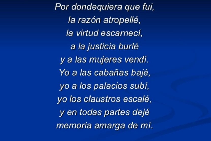 Fragmento - Don Juan Tenorio