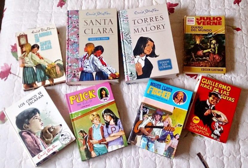 Algunos de mis libros de la infancia