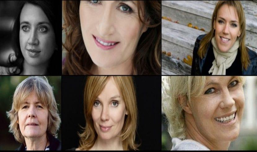 Camilla Låckberg, Mari Jungstedt, Åsa Larsson, Fred Vargas, Mo Hayder, Nele Nauhaus