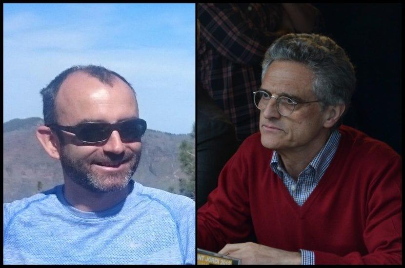 Rafael Santandreu y Luis Rojas Marcos