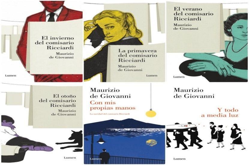 25 días con el comisario Ricciardi, de Maurizio de Giovanni.