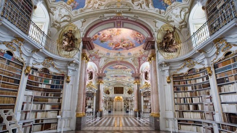 Biblioteca central de la Abadía de Admont