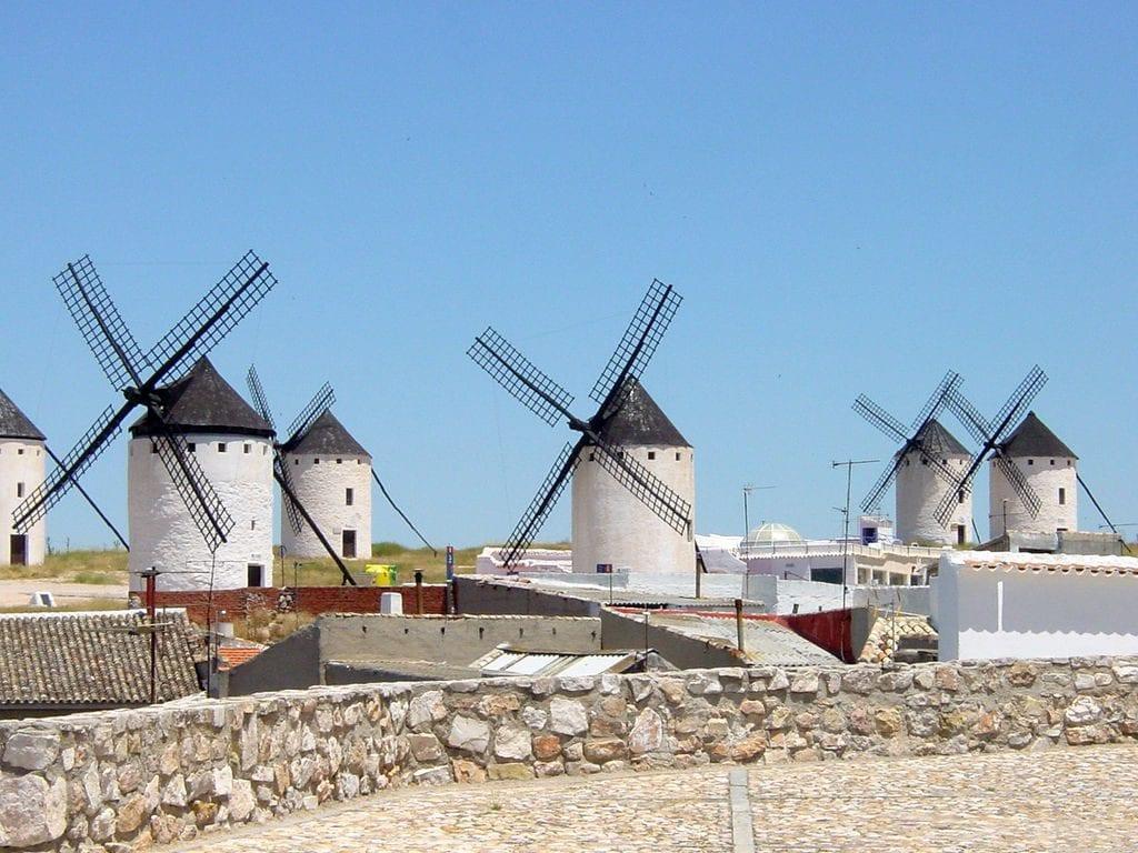 Campo de Criptana Don Quijote