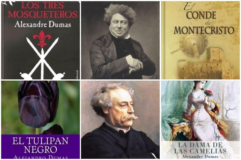 Alejandro Dumas Padre E Hijo Aniversarios Algunas Frases