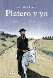 Platero y yo de Juan Ramón jiménez, versión ilustrada