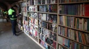 Los libros que tú tiras, otros lo reciclan