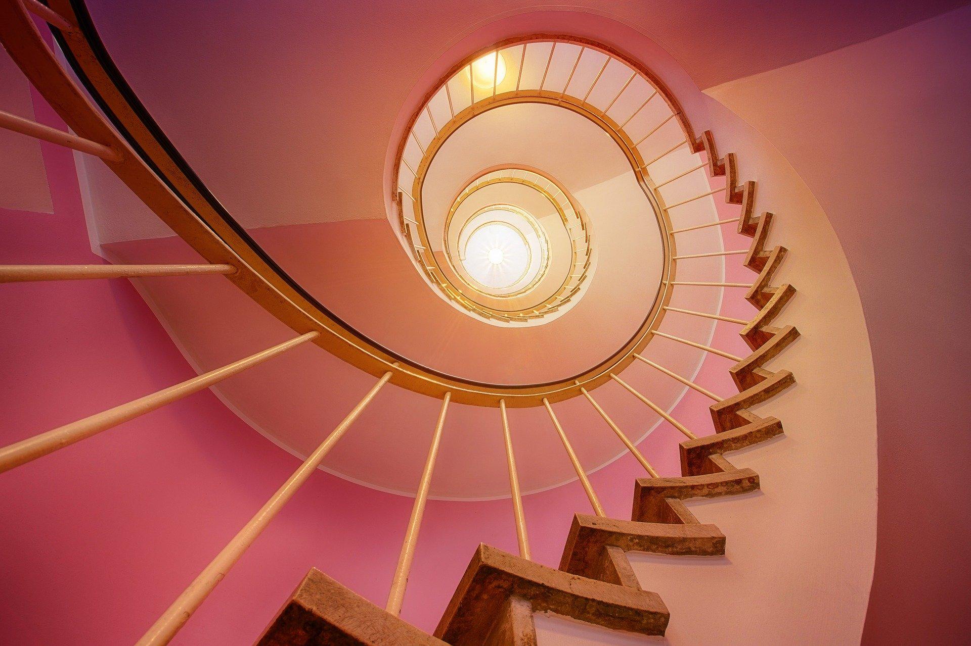 Escaleras, el principal elemento de Historia de una escalera